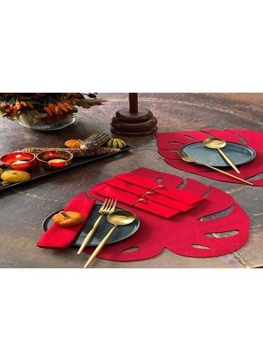 Arma House 6'lı Bal Kabak Supla & 4 Adet Organik Peçete Kırmızı